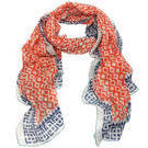[D|LUX Positano Sarong Large Scarf in Orange - $49.90]