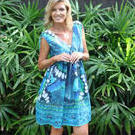 [Haven La Paz Dress in Marine Blue - $69.50]