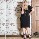 [Harlow Summer Diva Dress in Black - $159.00]