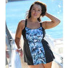 [Capriosca Swimwear Havana Wide Strap Swimdress - $149.00]