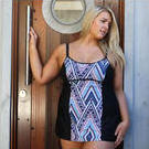 [Capriosca Swimwear Nomad Underwire Swimdress - $149.00]
